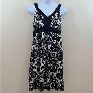 Ann Taylor LOFT V-Neck & Back Sleeveless Dress